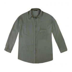Camisa Em Tecido Voile Flamê De Viscose
