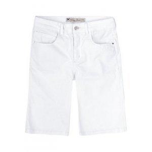 Bermuda Feminina Em Jeans De Algodão