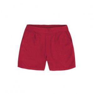 Shorts Feminino Básico Em Tecido De Viscose Sarjada