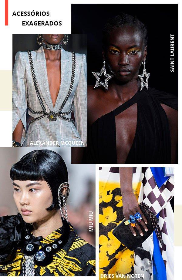 acessorios - metalizados - look - moda - trend