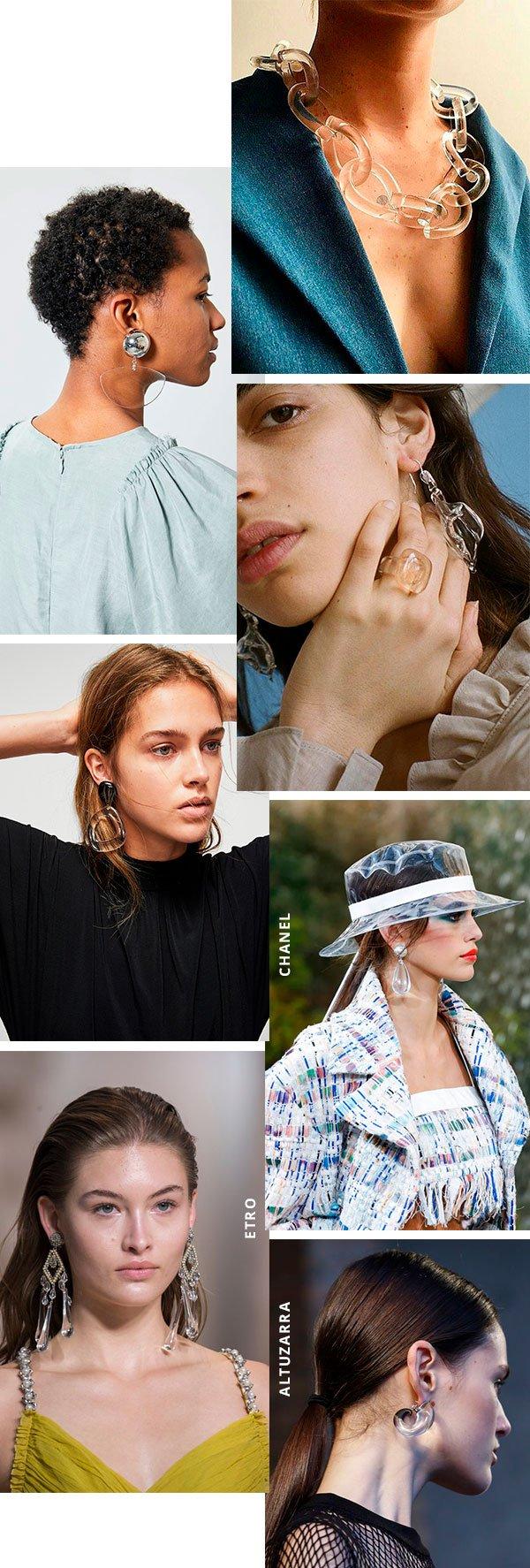 acessorios - transparentes - moda - look - comprar