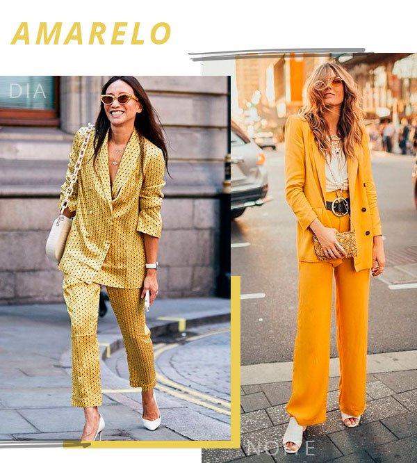 amarelo - look - trend - moda - terninho
