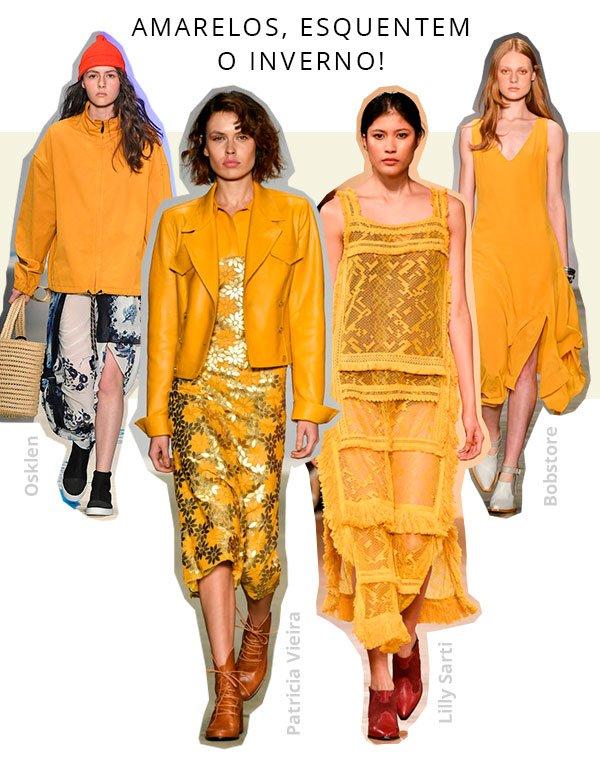 amarelo - passarela - spfw - trends - 2018