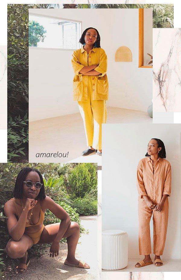 amarelo - erica - trend - look - insta girl