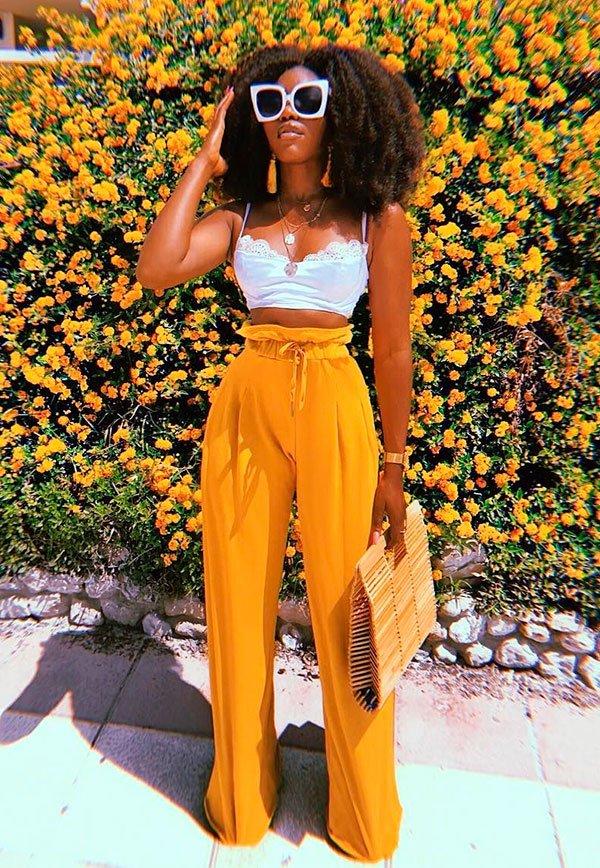 calca - amarela - look - insta - girl