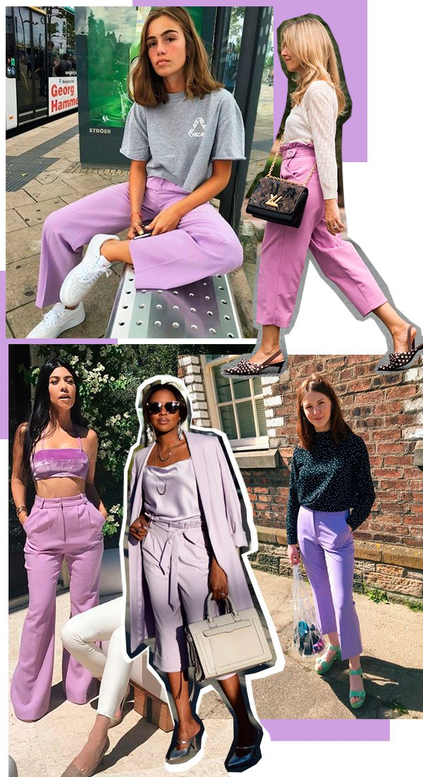 calca - lilas - looks - trendy - now