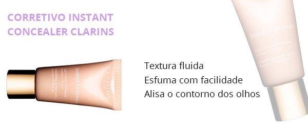 clarins - corretivo - pele - make up  - usar