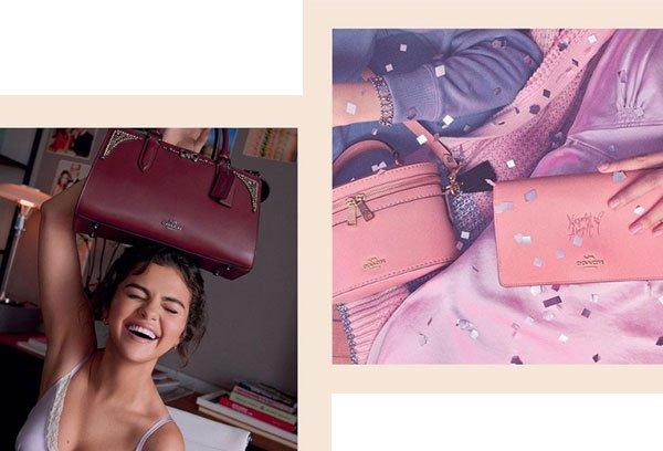 Selena Gomez - regata-lilás - bolsas - verão - Nova York