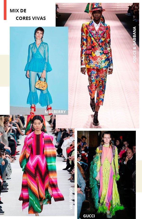 cores - vivas - trend - passarela - looks