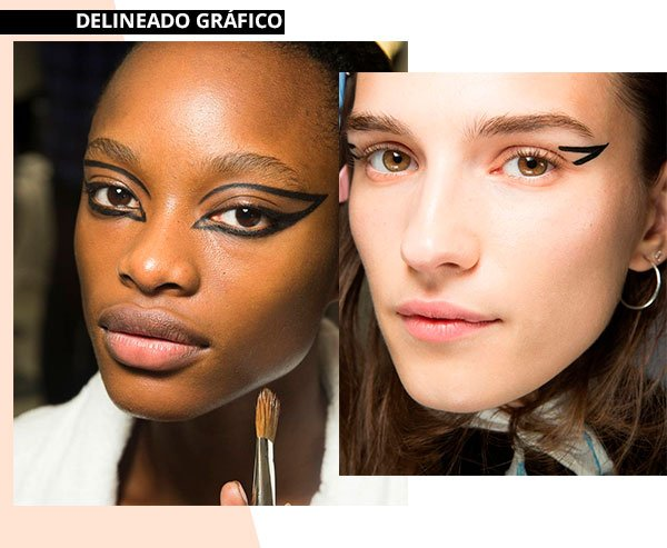 delineado - grafico - moda - trend - make