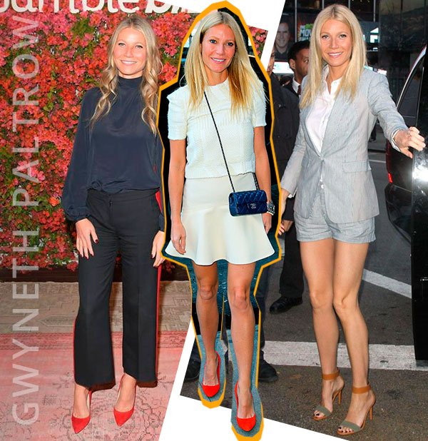 Gwyneth Paltrow - inspo - saptos - colorido - looks