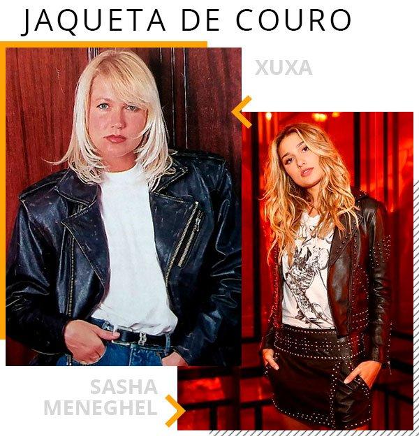 jaqueta - couro - moda - trendy - mae filha