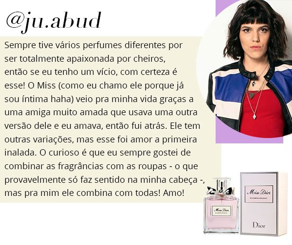 julia - perfume - favorito - miss - dior