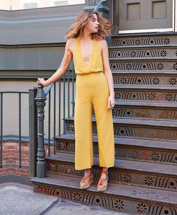 macacao - amarelo - look - comprar - trend