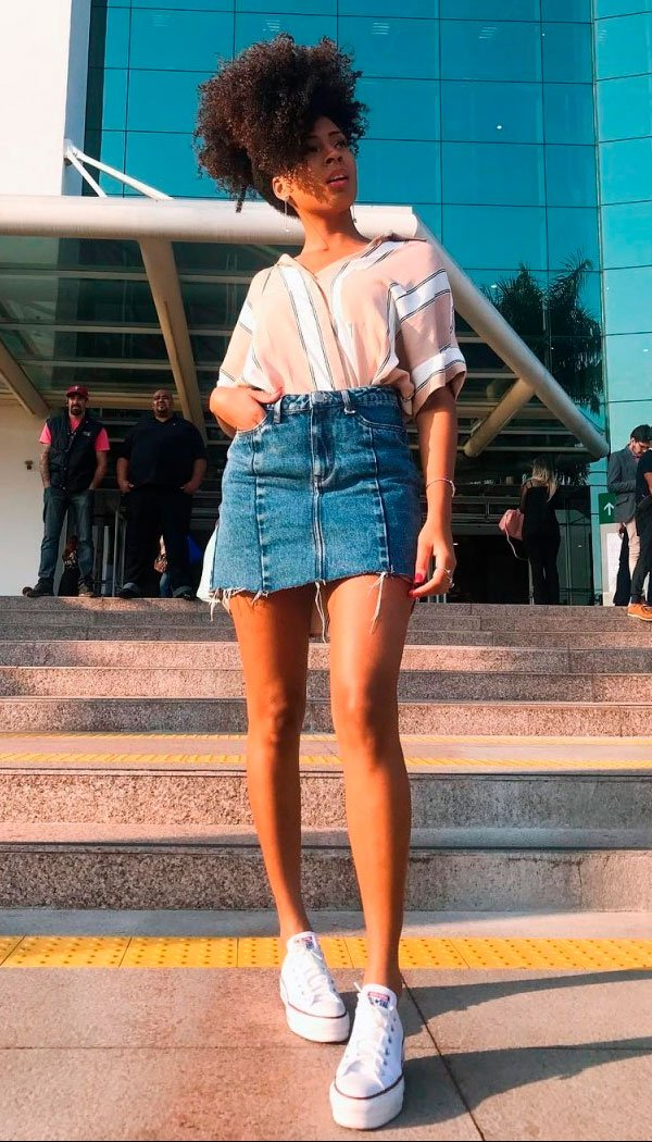 look - skirt - jeans - fashion - buy