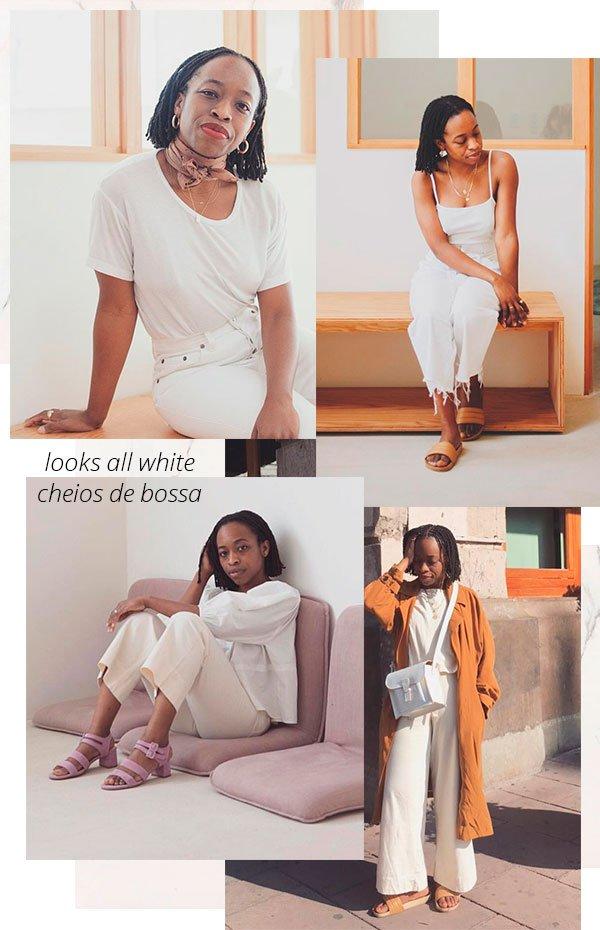 looks - all white - trendy - erica - chidi cohen