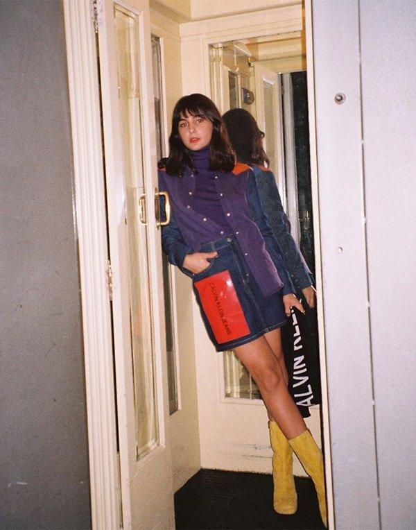 María Bernad - saia-jeans-turtleneck - saia jeans - verão - street style