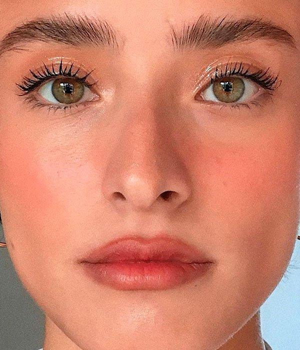 Nathalie Billio - maquiagem-blush - make queimada sol fresh - verão - estúdio