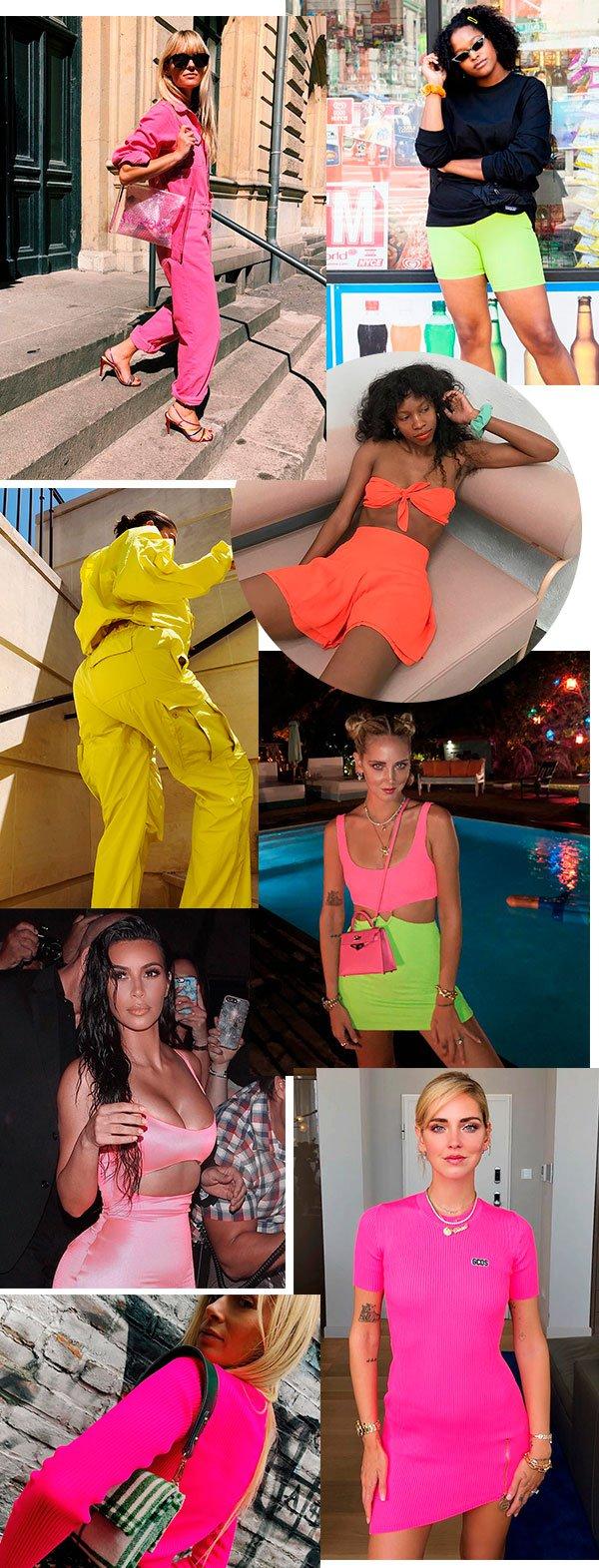 neon - trendy - moda - looks - cor