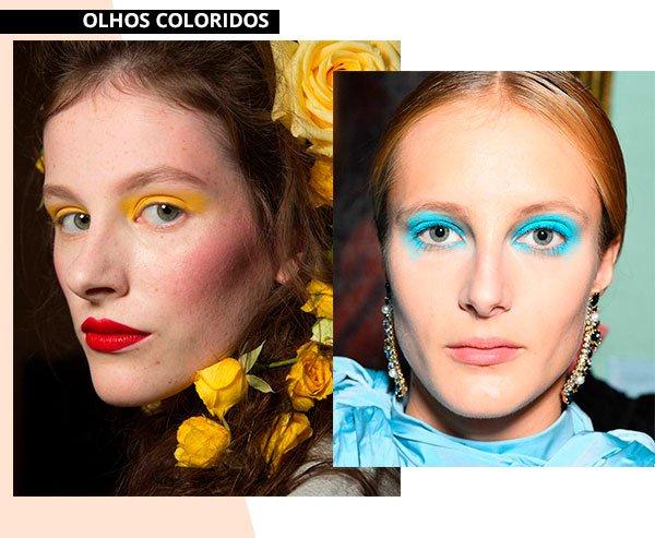 olhos - coloridos - make - trend - moda