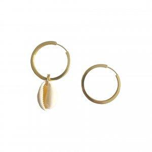 Argola Coquillage Tamanho: U - Cor: Dourado
