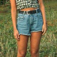 Short Jeans Mom Blue Tamanho: P - Cor: Azul