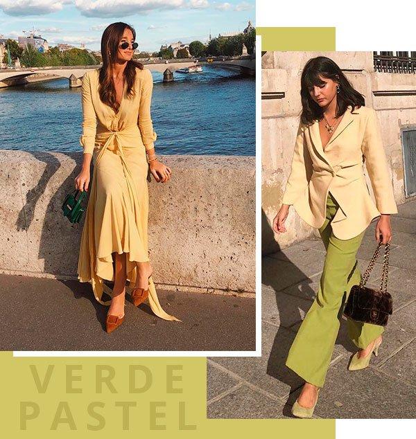 verde - pastel - looks - moda - trendy