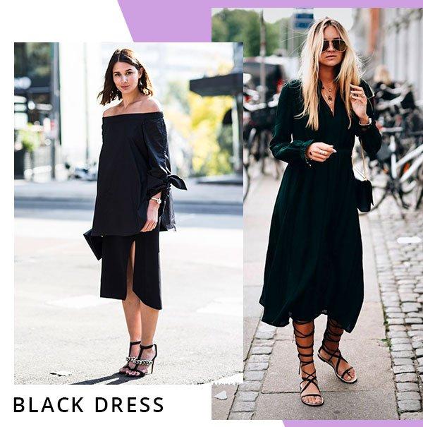 vestido - black - preto - comprar - looks