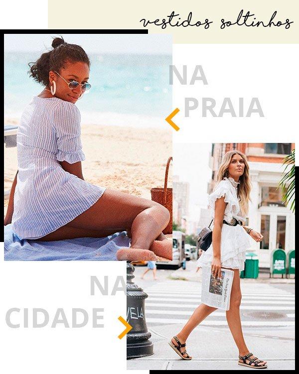 vestidos - looks - publi - rip curl - moda