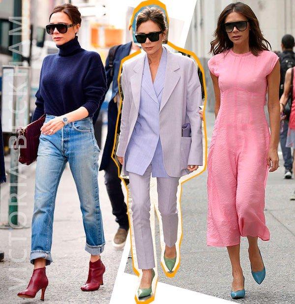 victoria - beckham - sapatos - coloridos - moda