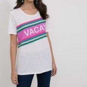 T Shirt com Estampa Vacay