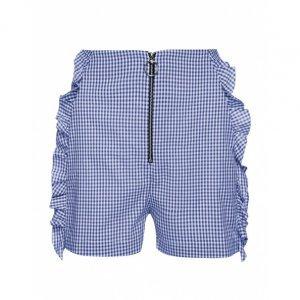 Shorts Curto Xadrez