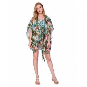 Kimono Seda Estampado