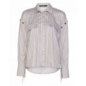 Striped Buttoned Shirt