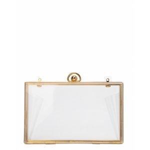 Bolsa Clutch Transparente