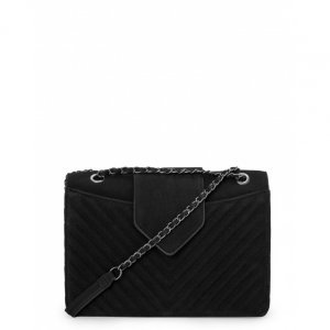 Suede Chain Bag