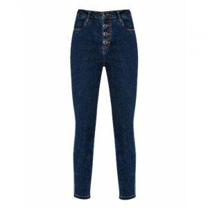 Calça Jeans Slim Listras