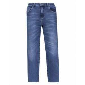 Calça Jeans Wide Cropped Leg