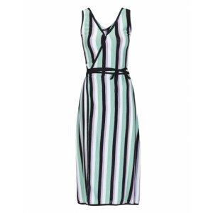 Striped Tricot Dress Striped