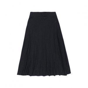 Viscose Midi Skirt