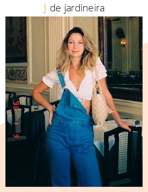 Luisa Meirelles - jardineira - jardineira - verão - street-style