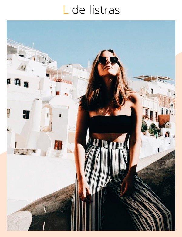 it-girl - calça-listrada - listras - verão - street-style