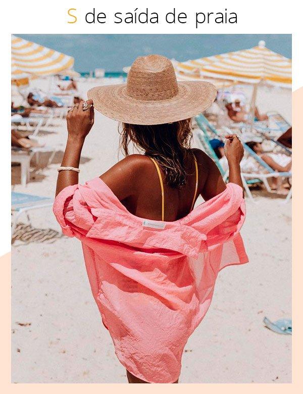 Sara Escudero - saída-de-praia - praia - verão - street-style