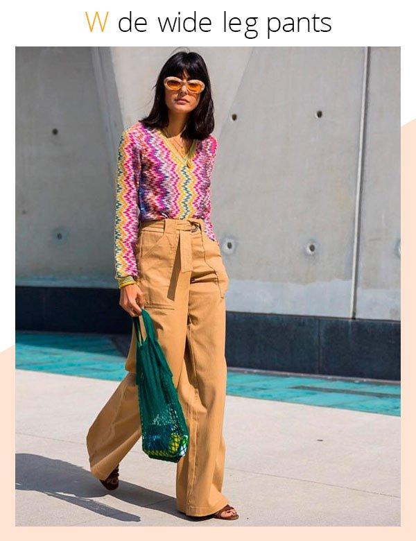 María Bernard - pantalona - pantalona - verão - street-style