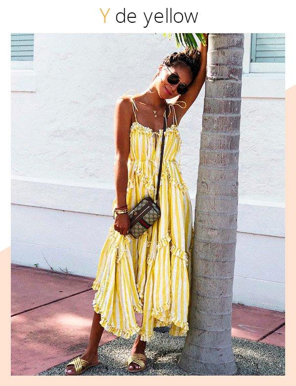 Julie Sarinana - vestido-amarelo - amarelo - verão - street-style