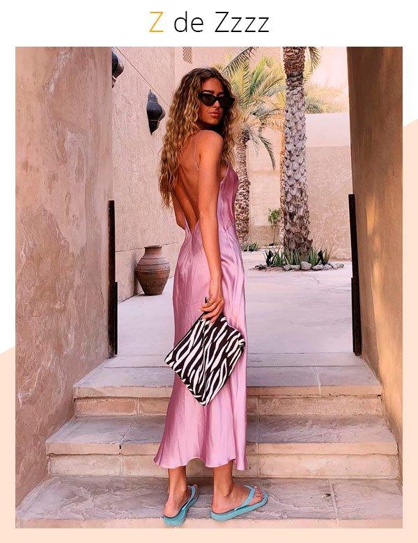 Emili Sindlev - slip-dress-rosa - slipdress - verão - street-style