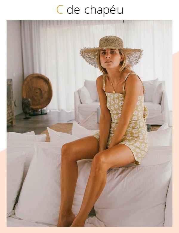 Lucy Williams - chapeu-palha-vestido-floral - palha - verão - street-style