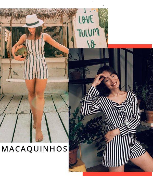 Flavia Pavanelli e Zabella - macaquinho-listrado - macaquinho - verão - street-style