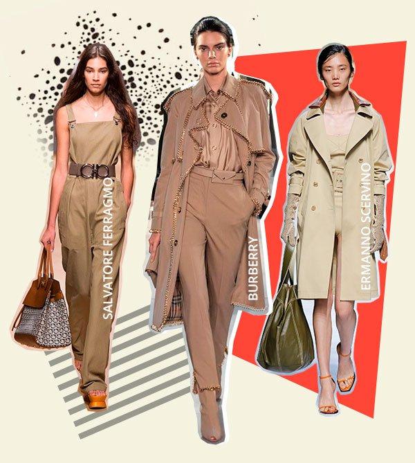 bege - looks - passarela - moda - trend