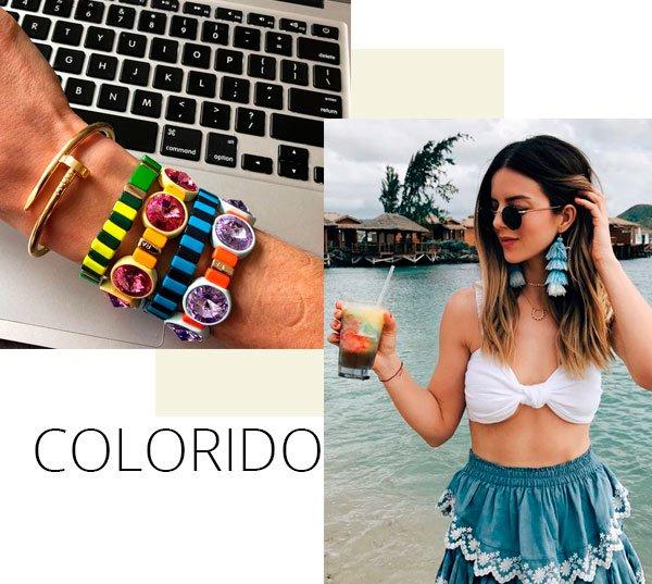 Leandra Medine, Michelle Madsen - bijoux-colorida - bijoux - verão - street-style